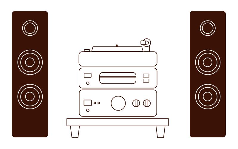 Акустическая система Hi-Fi